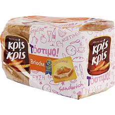 Ψωμί ΚΡΙΣ ΚΡΙΣ τόστιμο brioche (400g)