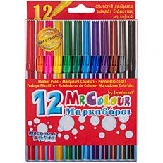 Μαρκαδόροι MRCOLOUR με 12 χρώματα