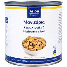 Κονσέρβα ARION FOOD μανιτάρια κομμένα (2,55kg)