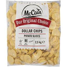 Πατάτες MCCAIN σωτέ σε ροδέλες κατεψυγμένες (2,5kg)