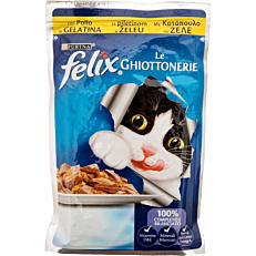 Τροφή FELIX γάτας με κοτόπουλο (100g)