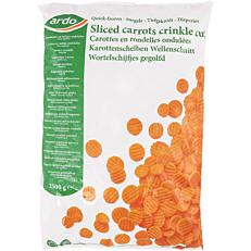 Καρότα ARDO σε κυματιστές φέτες κατεψυγμένα (2,5kg)