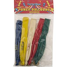 Μπαλόνια Punch Ball χρωματιστά 40cm (5τεμ.)