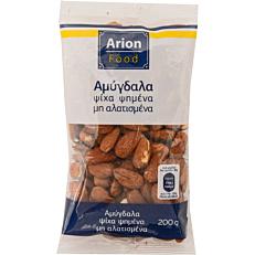 Αμύγδαλα ARION FOOD ψίχα, ψημένα, ανάλατα (200g)