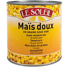 Κονσέρβα LE SOLEIL καλαμπόκι σε κόκκους (1,870kg)