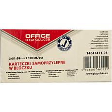 Χαρτάκια σημειώσεων OFFICE PR 38x51cm