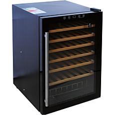 Βιτρίνα συντήρησης κρασιών MASTER CHEF με χωρητικότητα 48 μπουκαλιών