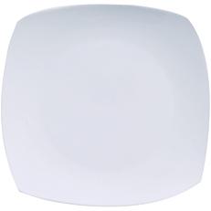 Πιάτο τετράγωνο ρηχό πορσελάνης MASTER CHEF 19,1x19,1cm