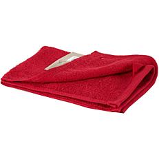 Πετσέτα YASEMI χεριών 100% βαμβακερή κόκκινη 30x50cm