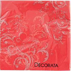 Χαρτοπετσέτες red flower 3φυλλες (20τεμ.)