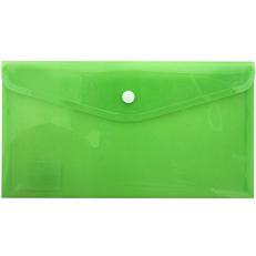 Φάκελος επιταγών με κουμπί PP διάφορα χρώματα