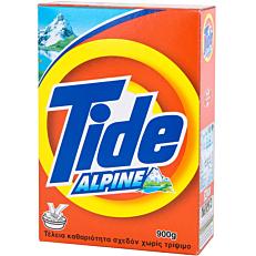 Απορρυπαντικό TIDE Alpine για πλύσιμο στο χέρι, σε σκόνη (900g)