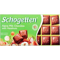 Σοκολάτα SCHOGETTEN με φουντούκι (100g)