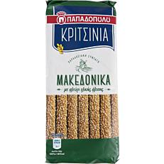 Κριτσίνια ΠΑΠΑΔΟΠΟΥΛΟΥ Μακεδονικά ολικής άλεσης (200g)