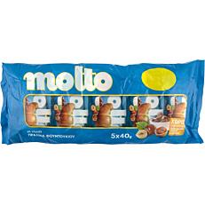 Κρουασάν MOLTO με γέμιση πραλίνα φουντουκιού (5x40g)