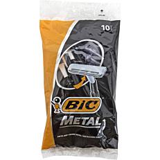 Ξυραφάκια BIC metal μιας χρήσης (10τεμ.)