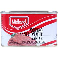Κονσέρβα MIDLAND χοιρινό luncheon meat (200g)