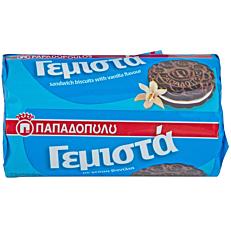 Μπισκότα ΠΑΠΑΔΟΠΟΥΛΟΥ γεμιστά με βανίλια (85g)