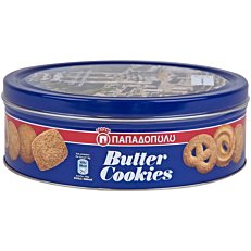 Μπισκότα ΠΑΠΑΔΟΠΟΥΛΟΥ Butter Cookies (454g)