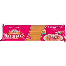 Μακαρόνια MISKO σπαγγέτι Νο.6 (500g)