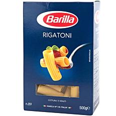 Πάστα ζυμαρικών BARILLA ριγκατόνι (500g)