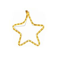 Φωτεινό περίγραμμα αστέρι κίτρινο 1m