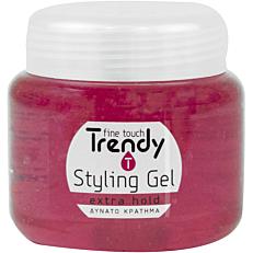 Gel μαλλιών TRENDY δυνατό κράτημα (280ml)