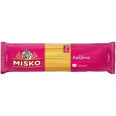 Πάστα ζυμαρικών MISKO λαζάνια (500g)