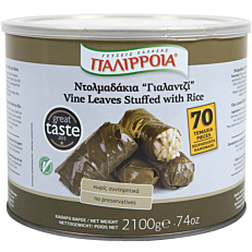 Κονσέρβα ΠΑΛΙΡΡΟΙΑ ντολμαδάκια (2,1kg)