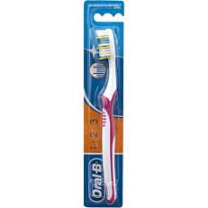 Οδοντόβουρτσα ORAL B 123 maxi clean