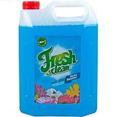 Καθαριστικό τζαμιών ACTIFRESH & clean marine sensation, υγρό (4lt)