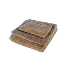 Πετσέτα YASEMI λαβέτα 100% βαμβακερή μπεζ 30x30cm