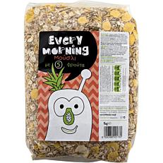 Δημητριακά EVERY MORNING με μούσλι και φρούτα (1kg)