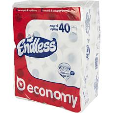 Χαρτί υγείας ENDLESS Gofre economy (40τεμ.)