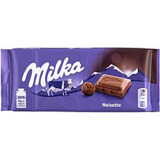 Σοκολάτα MILKA noisette γάλακτος (100g)