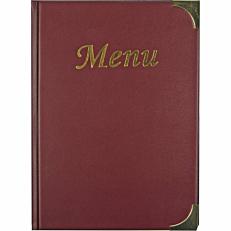 Θήκη κρασιού SECURIT Basic, Α5, κόκκινη, 8 σελίδες