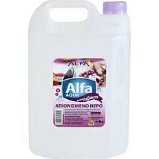 Απιονισμένο νερό ALFA AQUA λεβάντα (4lt)