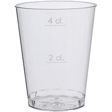 Ποτήρια πλαστικά διαφανή κονικά λικέρ 53ml (50τεμ.)