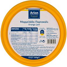 Μαρμελάδα ARION FOOD πορτοκάλι (500g)