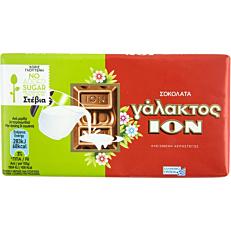 Σοκολάτα ΙΟΝ γάλακτος με στέβια χωρίς γλουτένη (60g)