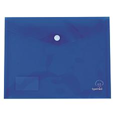 Φάκελος Plastid με κουμπί Α4 σε διάφορα χρώματα (10τεμ.)