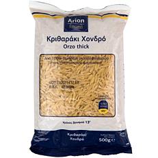 Πάστα ζυμαρικών ARION FOOD κριθαράκι χοντρό (500g)