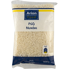 Ρύζι ARION FOOD νυχάκι (500g)