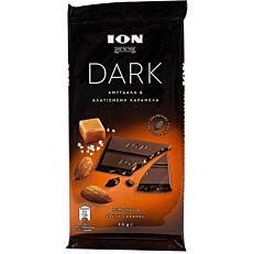 Σοκολάτα ΙΟΝ υγείας αμυγδάλου και καραμέλας (90g)
