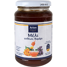 Μέλι ARION FOOD ανθέων με θυμάρι (450g)