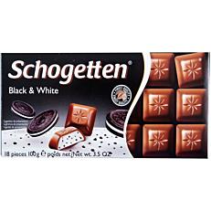 Σοκολάτα SCHOGETTEN black and white (100g)