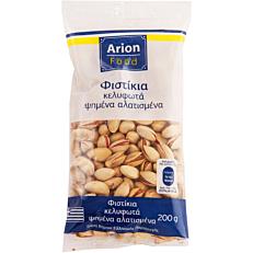 Φυστίκια ARION FOOD κελυφωτά, ψημένα, αλατισμένα (200g)