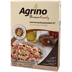 Ρύζι AGRINO καστανό πιλάφι (500g)