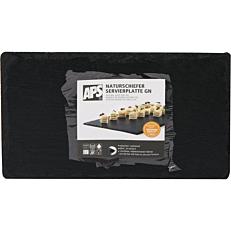Πλάκες σχιστόλιθου μαύρη 26,5x16,2cm