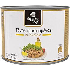 Κονσέρβα MASTER CHEF τόνος σε ηλιέλαιο (1,8kg)